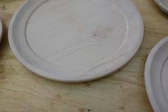 lege houten platen Stock Fotografie
