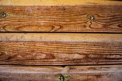 Lege houten raadsachtergrond Donkere oude houten van de lijsttextuur hoogste mening als achtergrond Bruine houten achtergrond Bru Royalty-vrije Stock Foto's