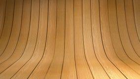 Lege houten studio Royalty-vrije Stock Afbeelding