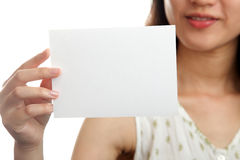 Lege kaart Stock Foto's