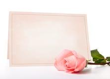 Lege kaart voor gelukwensen Royalty-vrije Stock Fotografie