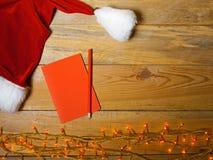 Lege kaart voor Kerstmisgroet Royalty-vrije Stock Afbeelding
