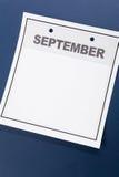 Lege Kalender Royalty-vrije Stock Afbeelding