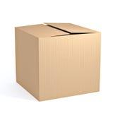 Lege kartonDoos Stock Afbeelding
