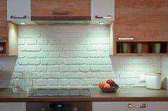 Lege keuken Stock Afbeeldingen