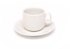 Lege koffiekop Stock Foto
