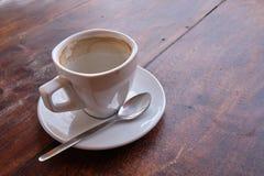 Lege koffiekop stock afbeeldingen