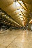Lege luchthaven Stock Afbeeldingen