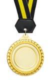 Lege medaille royalty-vrije stock afbeelding