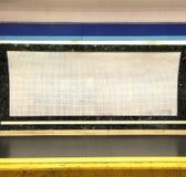 Lege metro, achtergrond Stock Afbeeldingen