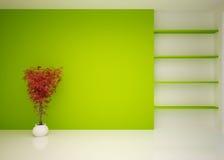Lege moderne binnenlandse woonkamer, zitkamer Stock Foto