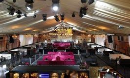 Lege nachtclub Royalty-vrije Stock Fotografie