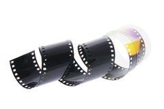Lege Negatieve Film Royalty-vrije Stock Afbeeldingen
