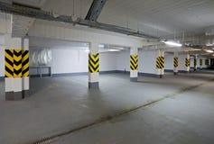 Lege nieuwe garage Stock Fotografie