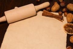 Lege nota voor recepten Stock Afbeelding