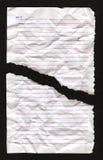 Lege notitieboekjepagina Royalty-vrije Stock Afbeelding