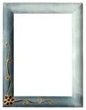 Lege omlijsting die op wit wordt geïsoleerdt Royalty-vrije Stock Foto's