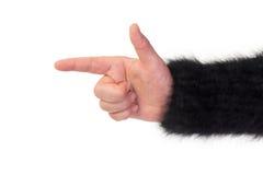 Lege open hand zoals Gesneden Royalty-vrije Stock Afbeelding
