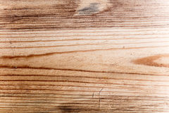 Lege oude bruine houten achtergrond stock foto's