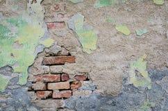 Lege oude muurtextuur royalty-vrije stock afbeelding