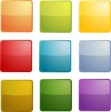 Lege pictogrammen Stock Fotografie