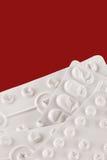 Lege pijnstillerpakketten Stock Afbeeldingen