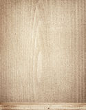 Lege plank op houten achtergrond Stock Foto