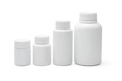 Lege plastic containers Royalty-vrije Stock Afbeelding