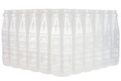 Lege plastic het drinken flessen Royalty-vrije Stock Fotografie
