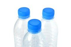 Lege plastic waterfles. royalty-vrije stock fotografie