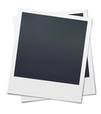 Lege Polaroidcamera Stock Fotografie