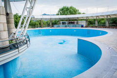 Lege pool Royalty-vrije Stock Fotografie