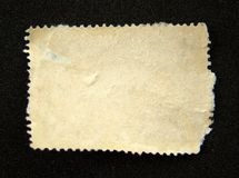 Lege postzegel stock afbeeldingen