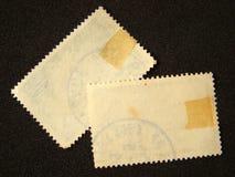 Lege postzegels royalty-vrije stock foto