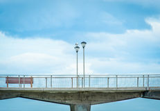 Lege Promenade Royalty-vrije Stock Afbeelding