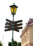 Lege richtingverkeersteken Royalty-vrije Stock Afbeelding