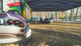 lege ritten in de stad van Kiev royalty-vrije stock foto