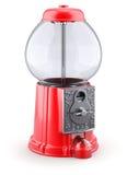 Lege rode gumballmachine Stock Afbeelding