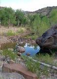 Lege Roubideau-rivier Stock Afbeelding