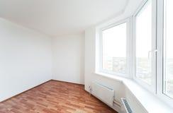 Lege ruimte met venster Stock Fotografie