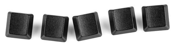 5 lege sapce van het toetsenbord zeer belangrijk-exemplaar Royalty-vrije Stock Afbeeldingen