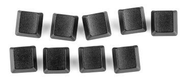 Lege sapce van het toetsenbord zeer belangrijk-exemplaar Royalty-vrije Stock Fotografie