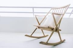 Lege schommelstoel Stock Afbeelding