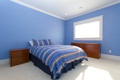 Lege slaapkamer Royalty-vrije Stock Foto's