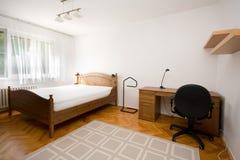 Lege slaapkamer stock foto's