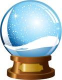 Lege Snowglobe stock illustratie