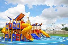 Lege speelplaats Royalty-vrije Stock Fotografie