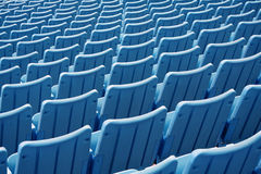 Lege stadionzetels Stock Fotografie