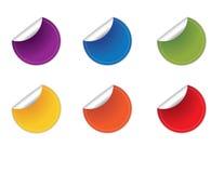 Lege Stickers royalty-vrije illustratie