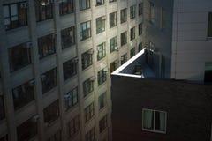 Lege stoel op het balkon Royalty-vrije Stock Foto
